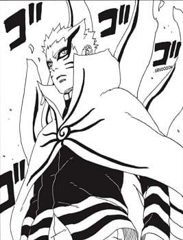 Naruto's Baryon Mode