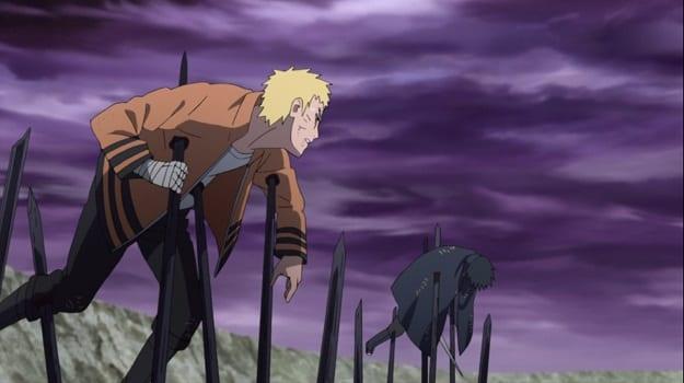 Boruto episode 204 Jigen vs Naruto and Sasuke