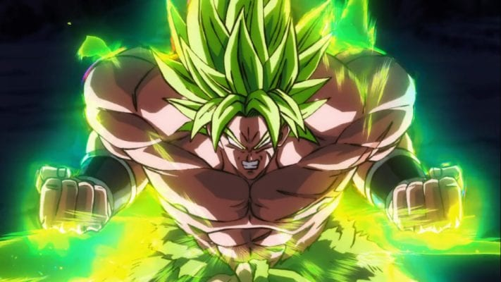 Legendary Super Saiyan Broly full power