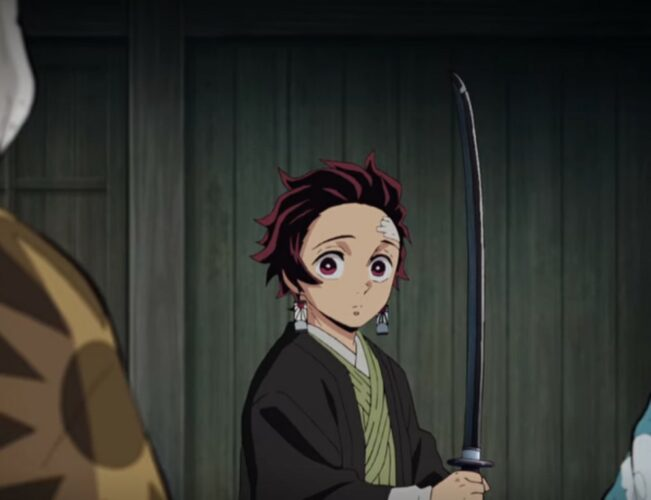 Could This Be Why Tanjiro Has a Black Nichirin Blade? Anomaly Explained!
