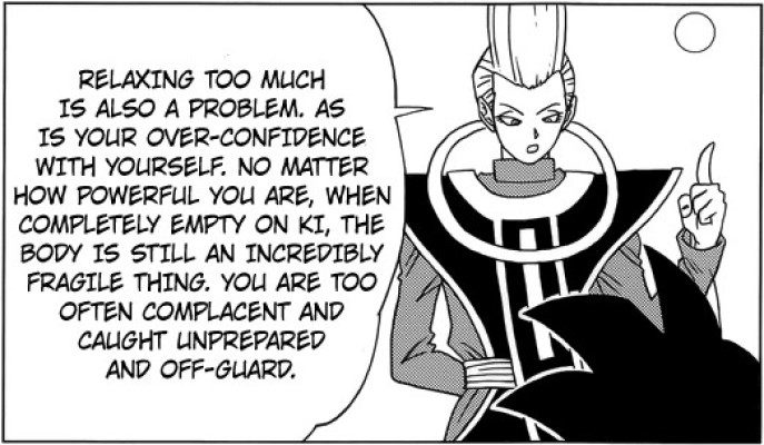 Goku's main weaknesses explained by Whis