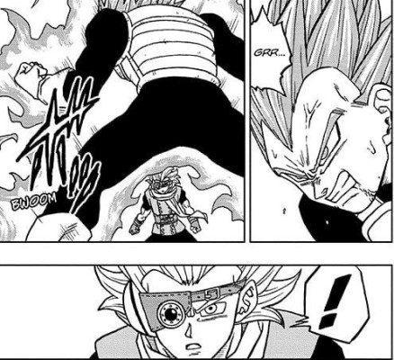 Dragon Ball Super Chapter 74 Breakdown: Granolah is surprised by Vegeta's will to endure