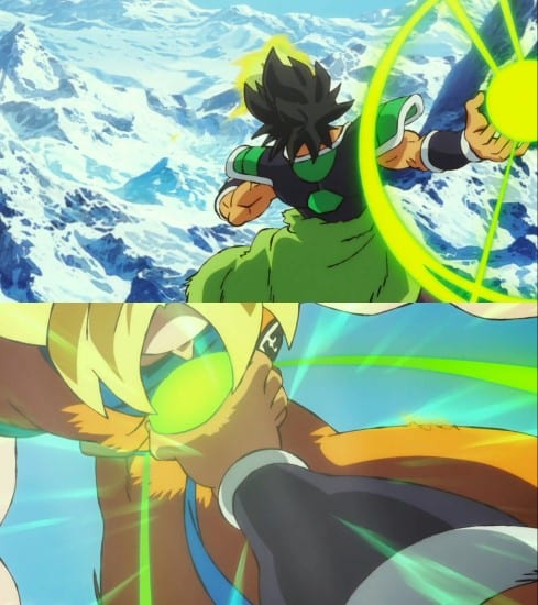 Broly's powers and abilities - blaster meteor technique