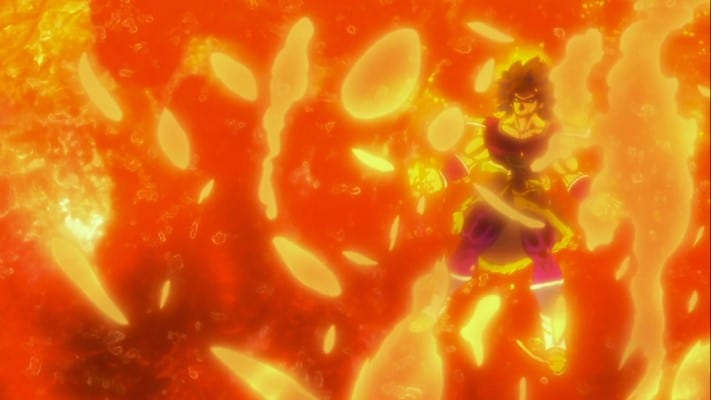 Broly's powers and abilities - Heat resistance