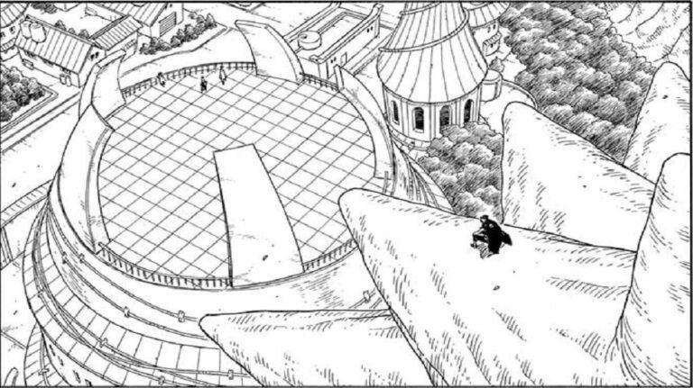 Kawaki in Boruto chapter 60