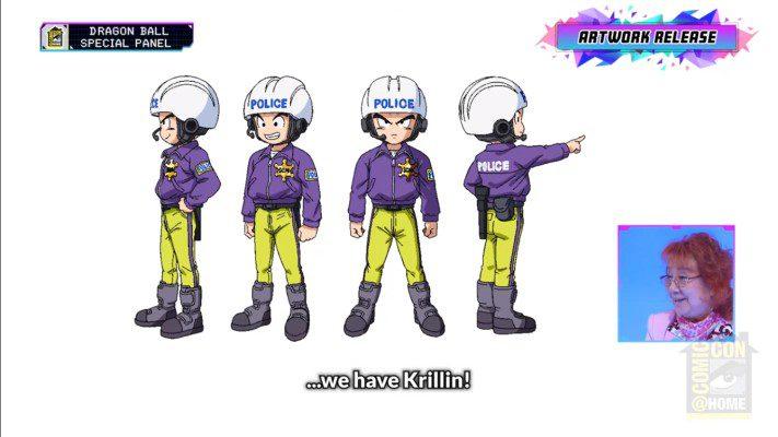 Dragon Ball Super: Super Hero - Krillin artwork