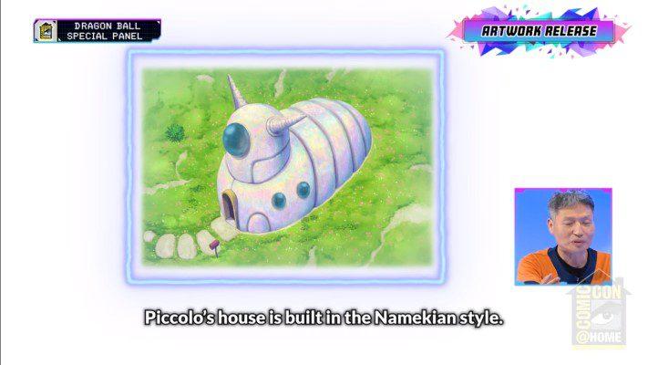 Dragon Ball Super: Super Hero - Piccolo's house