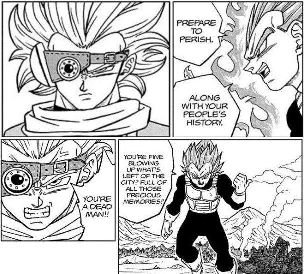 Dragon Ball Super Chapter 74 Breakdown: Vegeta targeting Granolah's people