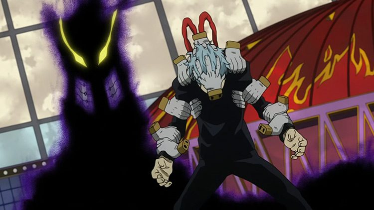 Warpgate being used to transport Shigaraki during the USJ incident.