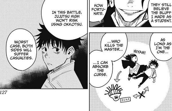 Geto's plan to go up against Okkotsu
