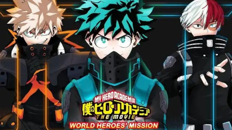 My Hero Academia The Movie: World Heroes' Mission Receives 4D Screenings From August 28