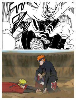 Naruto vs Pain and Isshiki