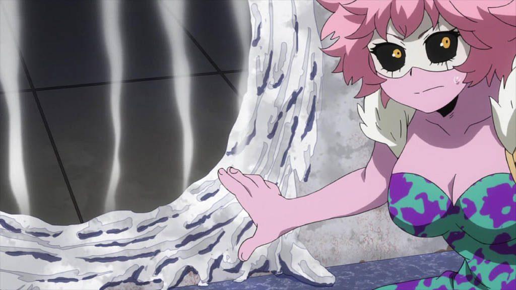 Acid Quirk as used by Mina Ashido