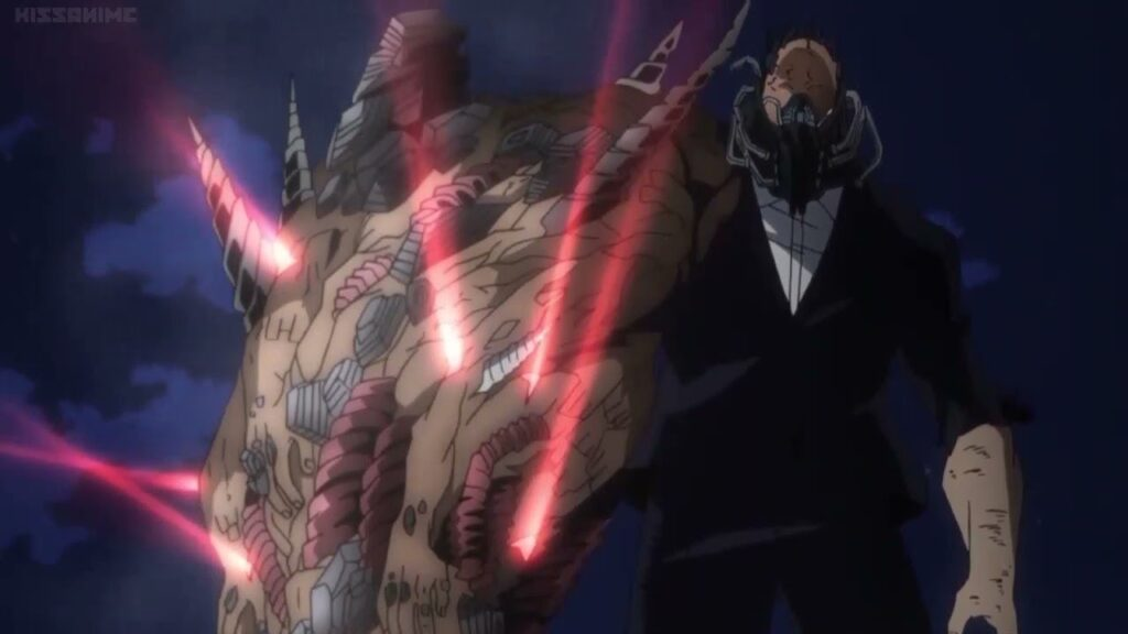 All for One being used during the battle against All Might