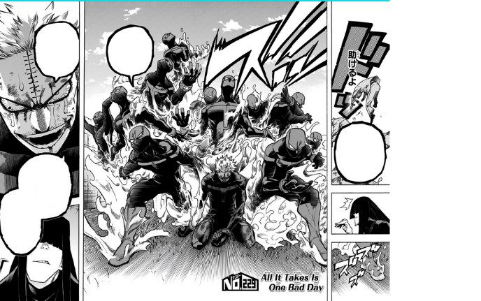 Twice using his quirk Double to its maximum.