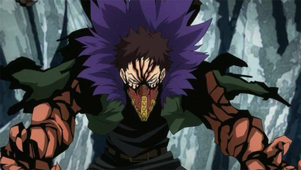 Kai Chisaki's Overhaul quirk that allows him to dissemble and assemble things and people.