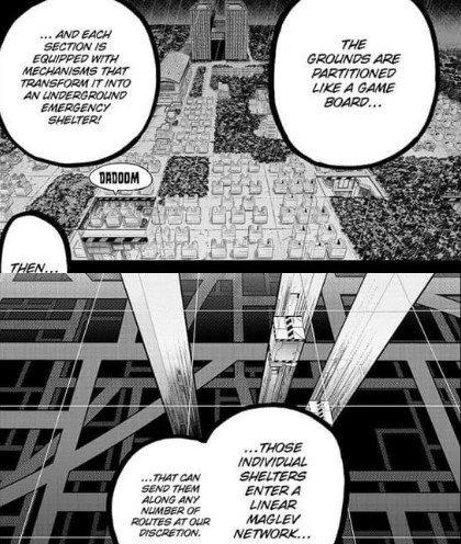 Principal Nezu describes UA's new updates My Hero Academia Chapter 323