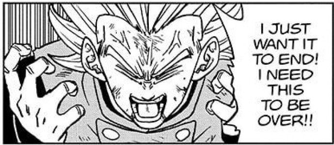 DBS Chapter 76: Granolah is physically and mentally broken