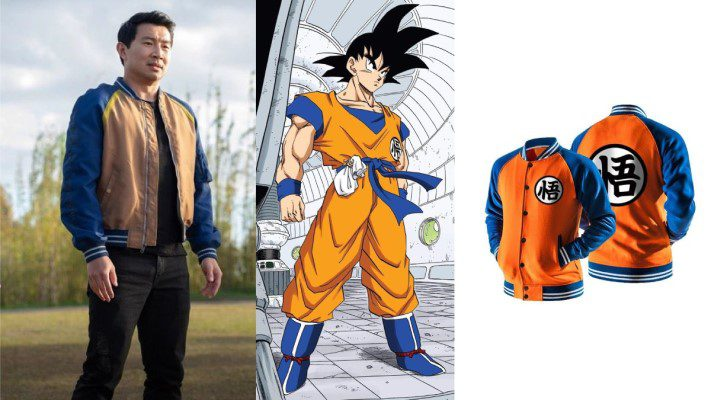 Comparing Shang-Chi's clothes with Goku's