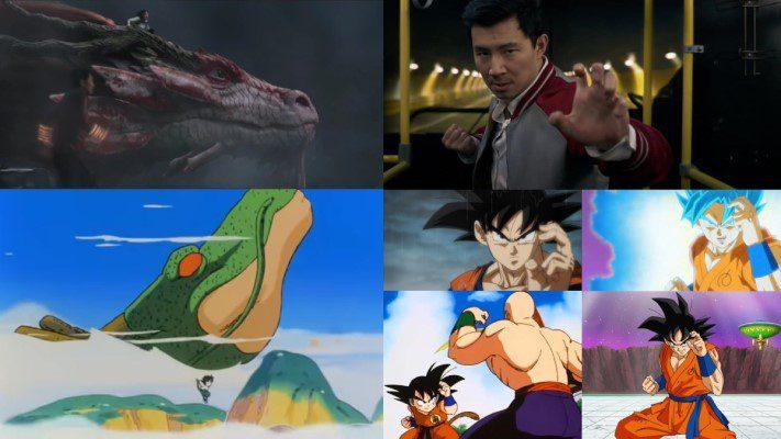 Similarities between Shang-Chi and Dragon Ball