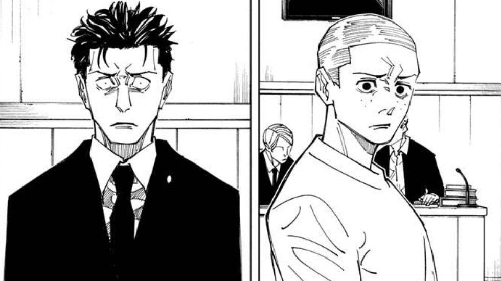 JJK chapter 159 Higuruma