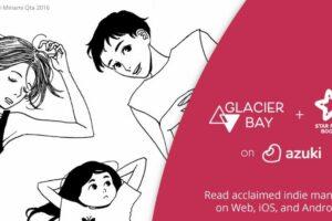 Azuki Manga Service Teams Up With Glacier Bay and Star Fruit Books