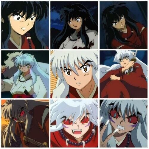 Inuyasha's phases are similar to Kaneki's