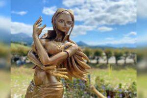 Nico Robin's Bronze Statue Unveiled In Kumamoto Prefecture