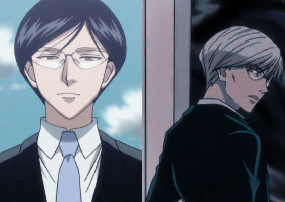 Diffference in Knov's facial and hair features from Hunter X Hunter